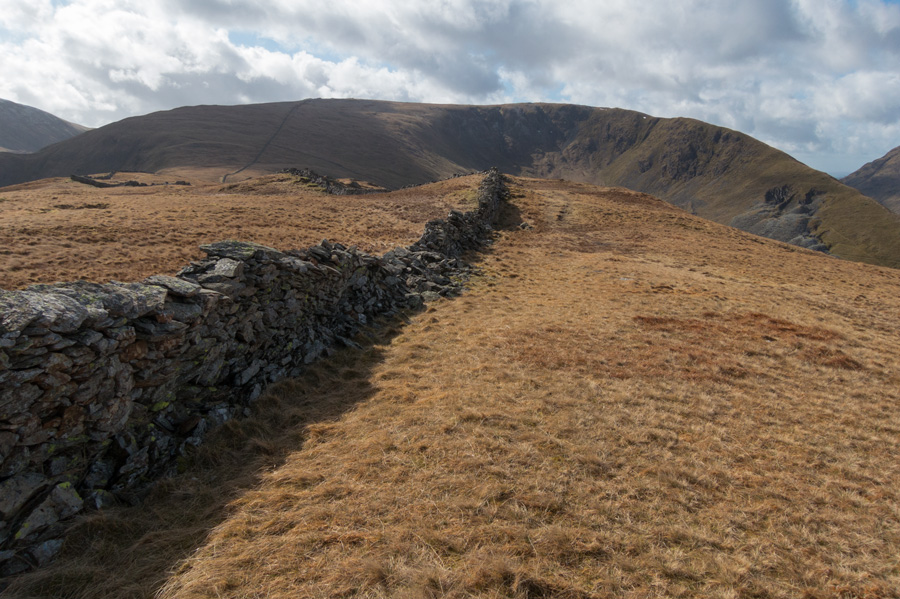 Just follow the wall to Caudale Moor