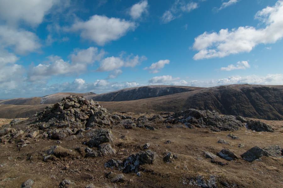 Stony Cove Pike's summit cairn