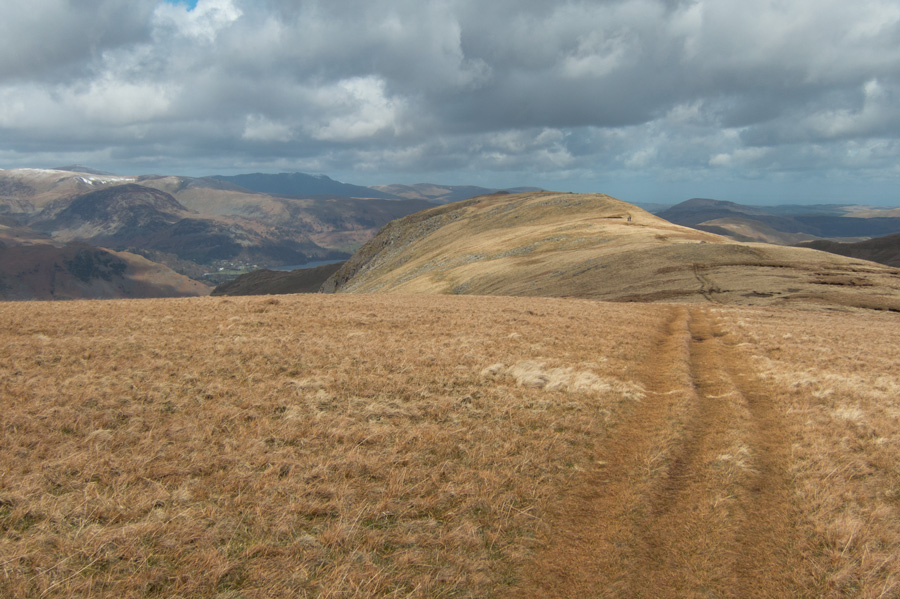 Heading for Gray Crag