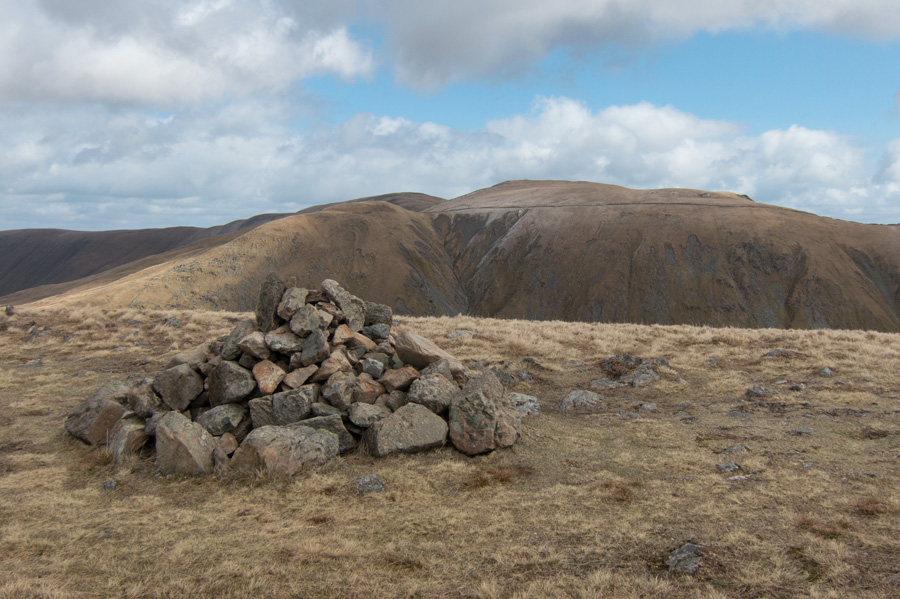 Gray Crag's summit cairn