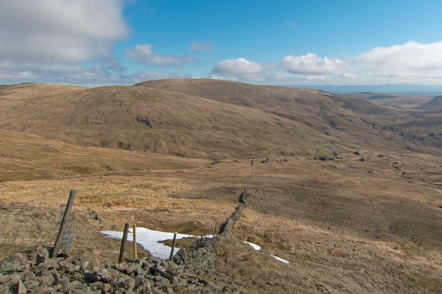 Adam Seat with Branstree behind from my route up Kentmere Pike