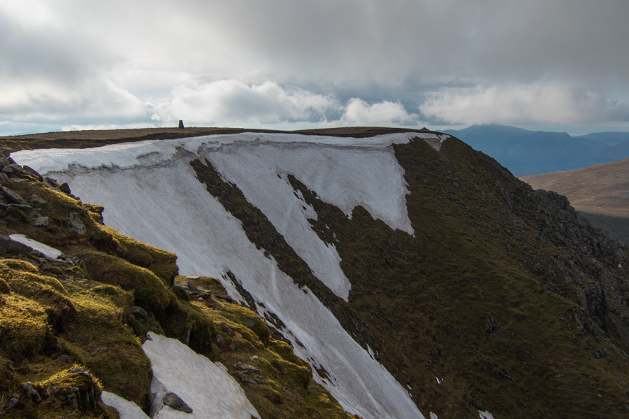Helvellyn's summit