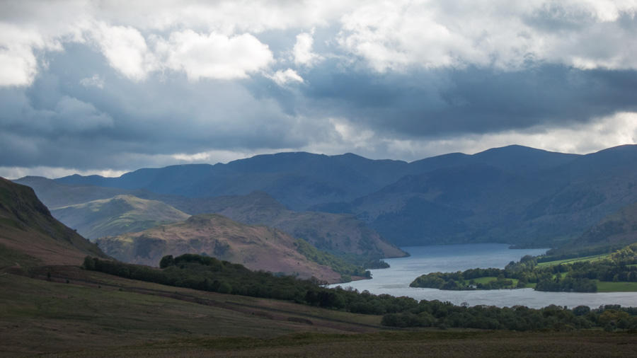 Ullswater and the high fells