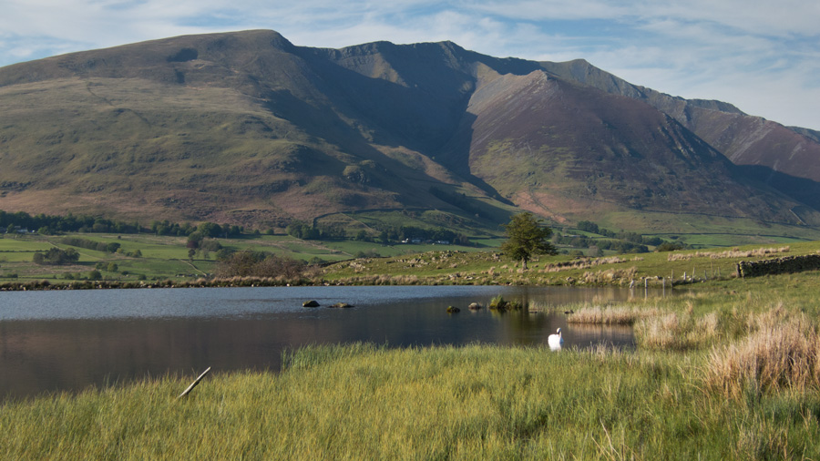 Blencathra from Tewet Tarn