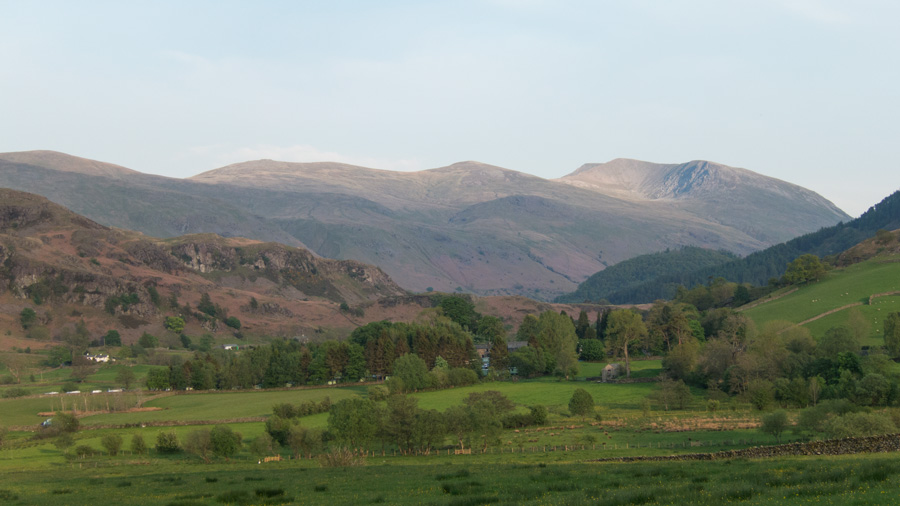 Helvellyn to the south