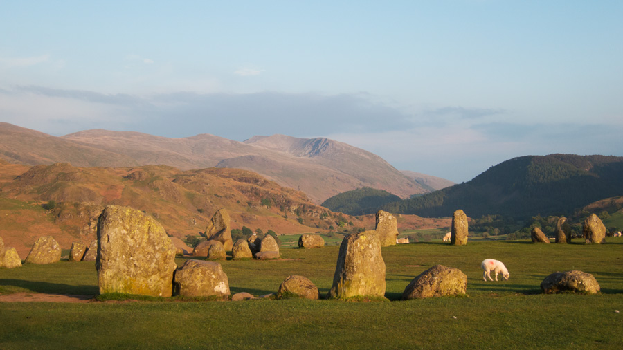 Back at Castlerigg Stone Circle