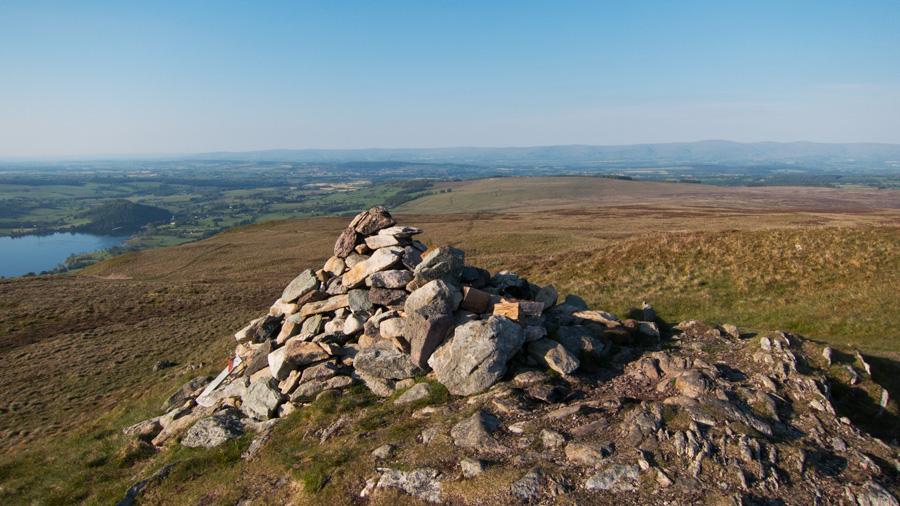 Arthur's Pike summit cairn
