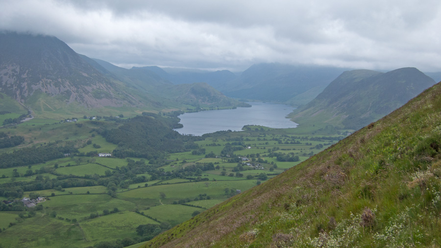Crummock Water comes into view