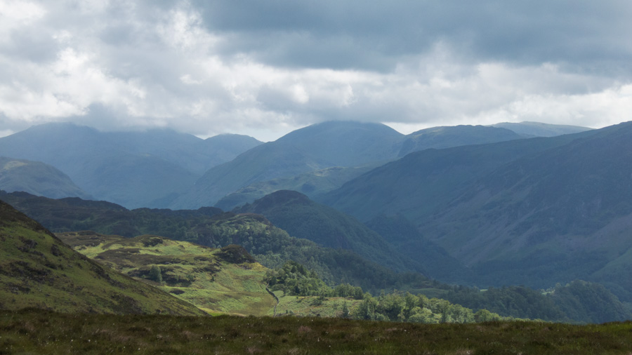 Upper Borrowdale to the south