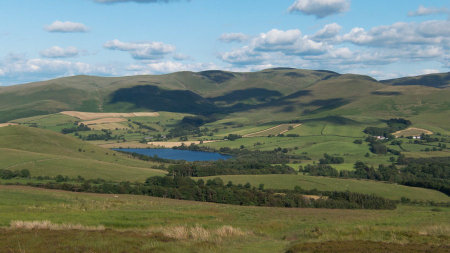 Over Water and the Uldale Fells