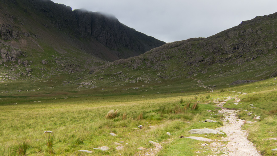 Heading for Goat's Water