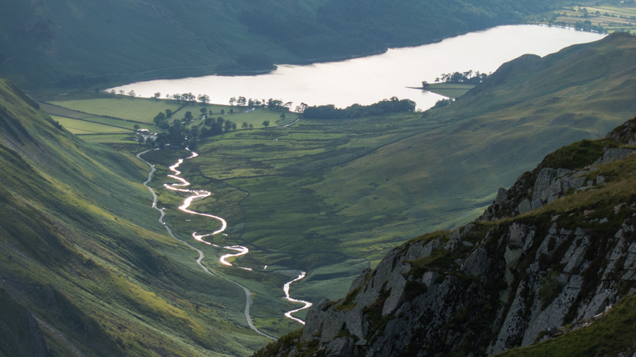 Gatesgarthdale Beck and Buttermere