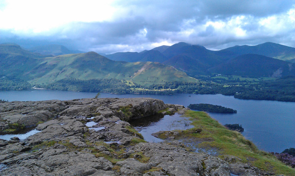 Looking over Derwent Water to Cabells