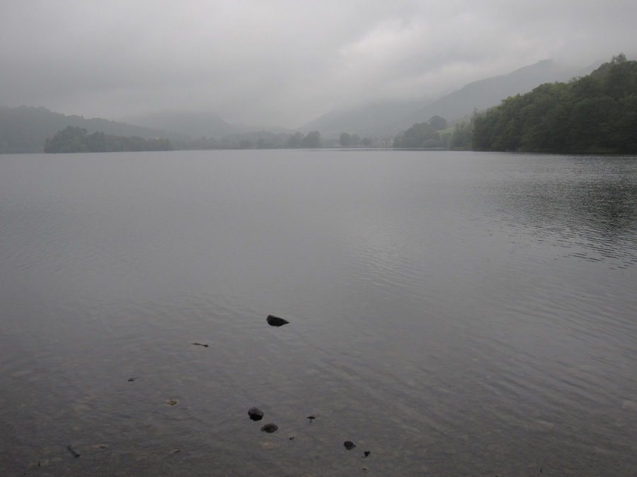 Grasmere and low cloud