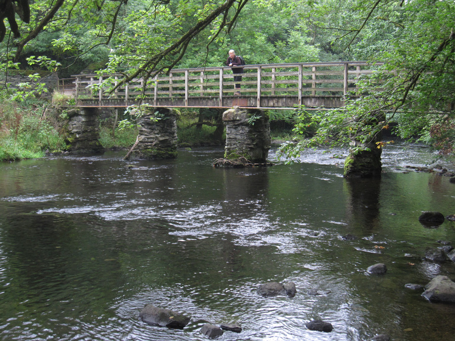 Crossing the River Rothay