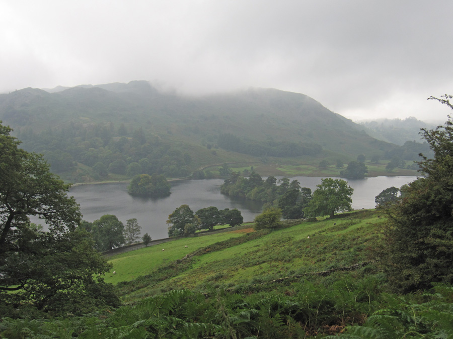 Looking across Rydal Water to Loughrigg Fell