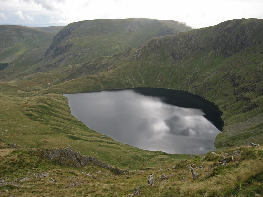 Blea Water with Harter Fell behind