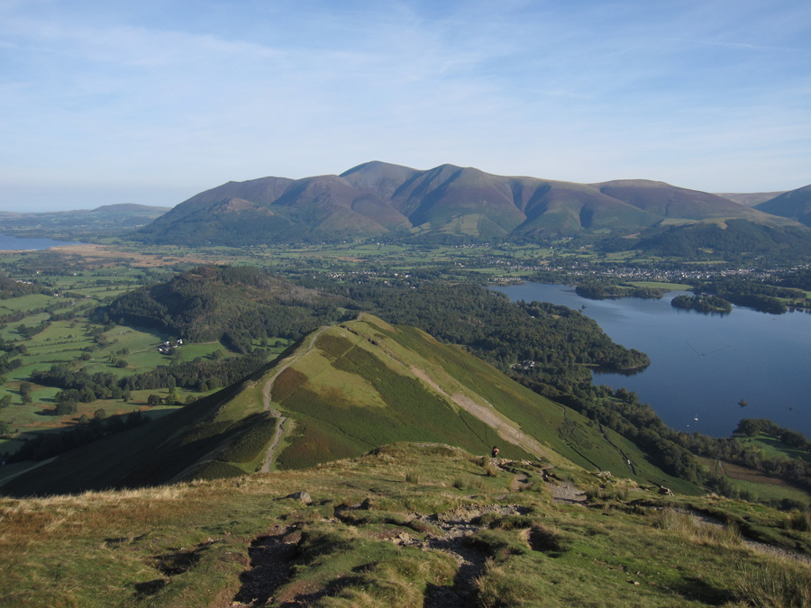 North from Catbells summit
