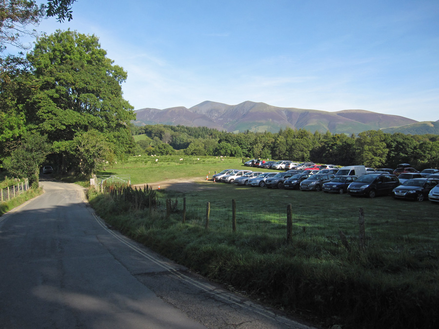 Catbells carpark, only £3 all day. If you get here early enough there is free road side parking!