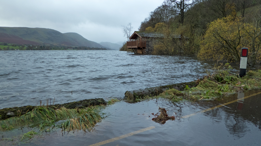 [[Itm:568|The Duke of Portland Boathouse]], Ullswater, taken on the way home