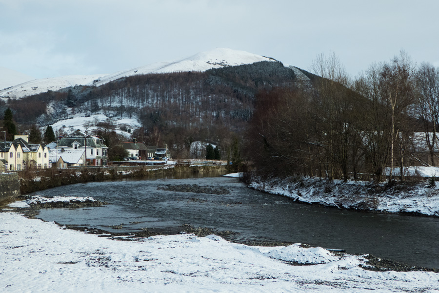 Latrigg from by the River Greta