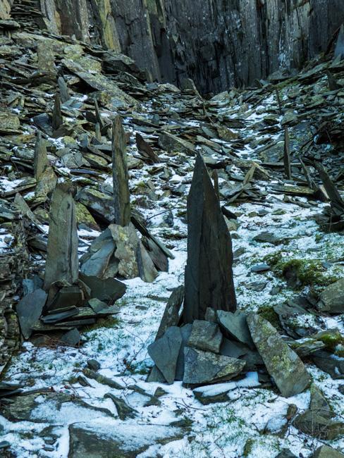 Rock art in the upper quarry