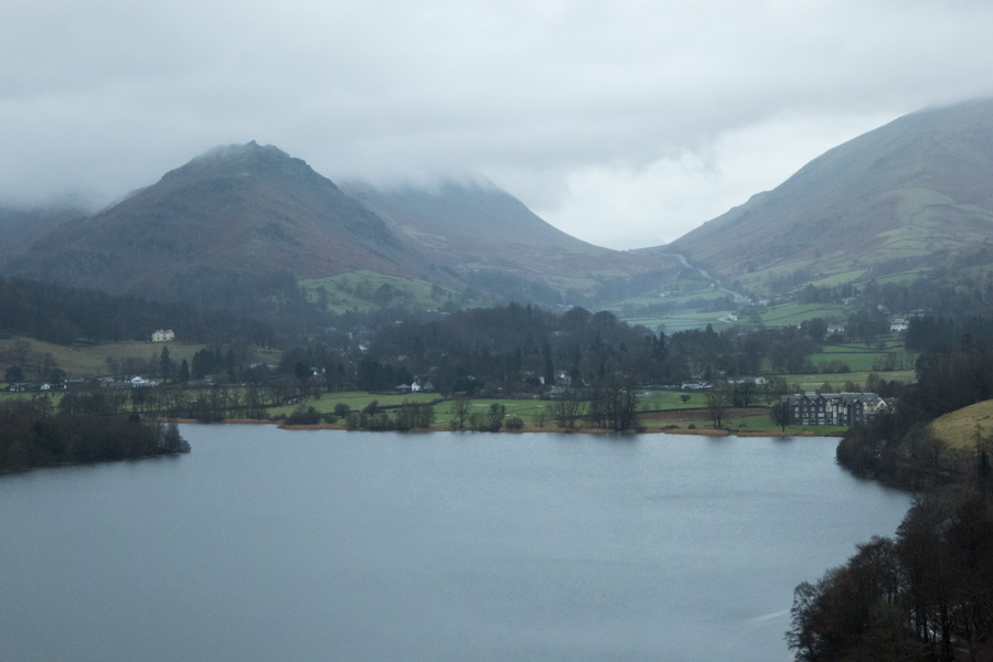 Helm Crag and Dunmail Raise