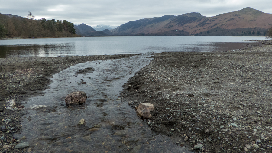 Looking south up Derwent Water