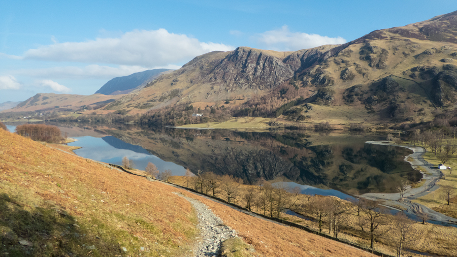 Great reflections in Buttermere