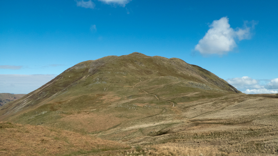 Looking across Boredale Hause to Place Fell