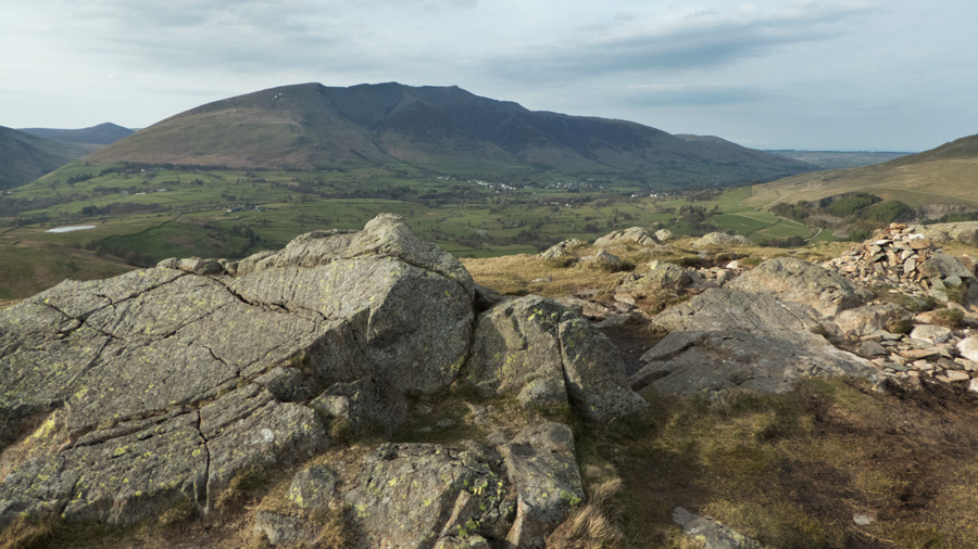 Blencathra from High Rigg's summit