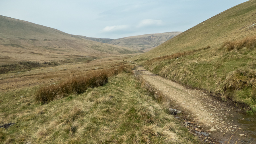 The track by Carrock Beck