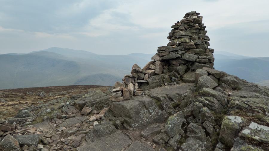 Carrock Fell summit cairn