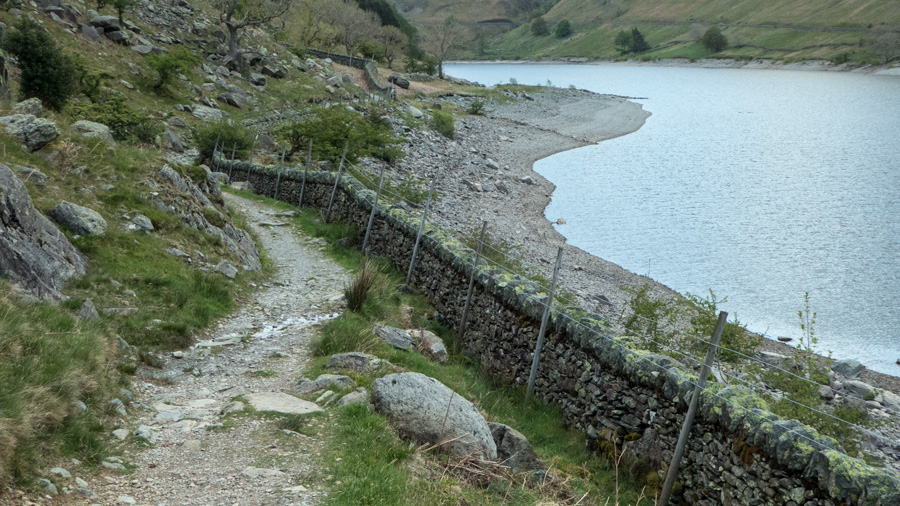 The Haweswater water levels are dropping