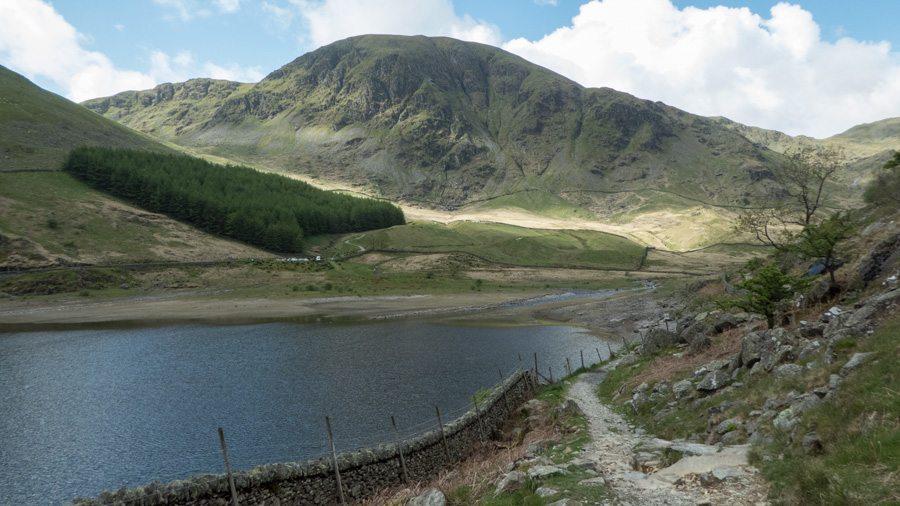 Mardale Head and Harter Fell