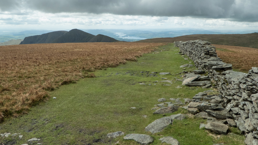 The Ill Bell ridge and Windermere to its right