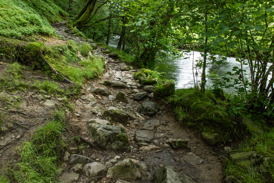 Path by the River Rothay