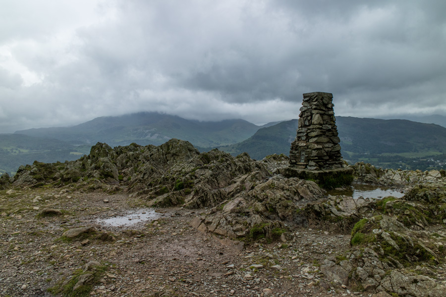 Loughrigg's summit