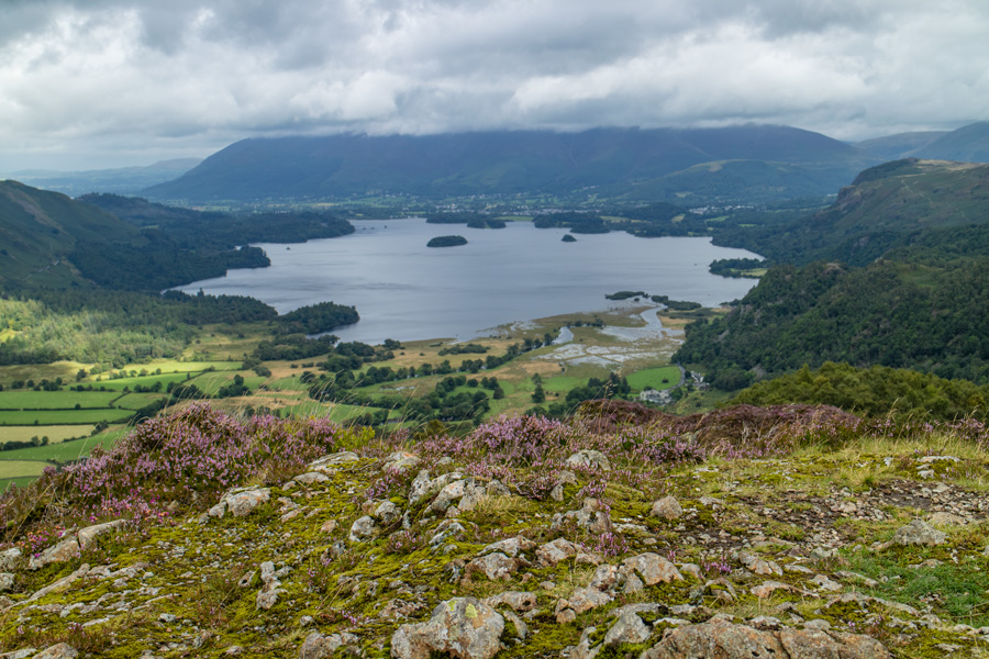 Derwent Water from the summit of King's How