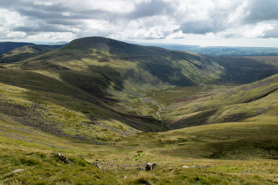 Looking over the head of Blengdale to Seatallan