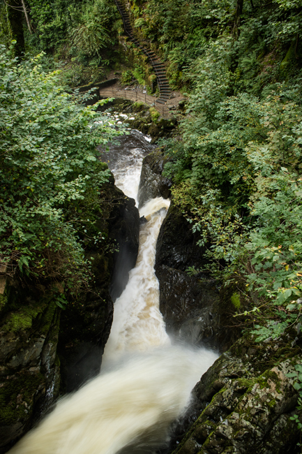 Aira Force from the top bridge