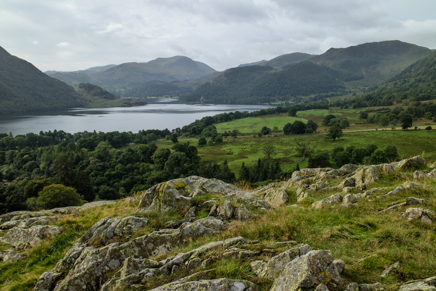 Ullswater from my ascent of Green Hill