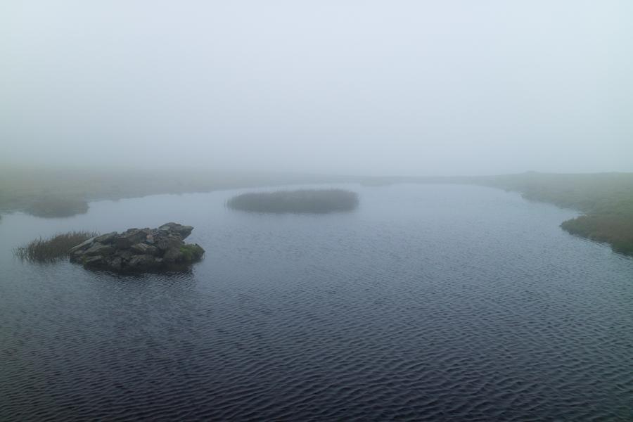 Blencathra's summit tarn