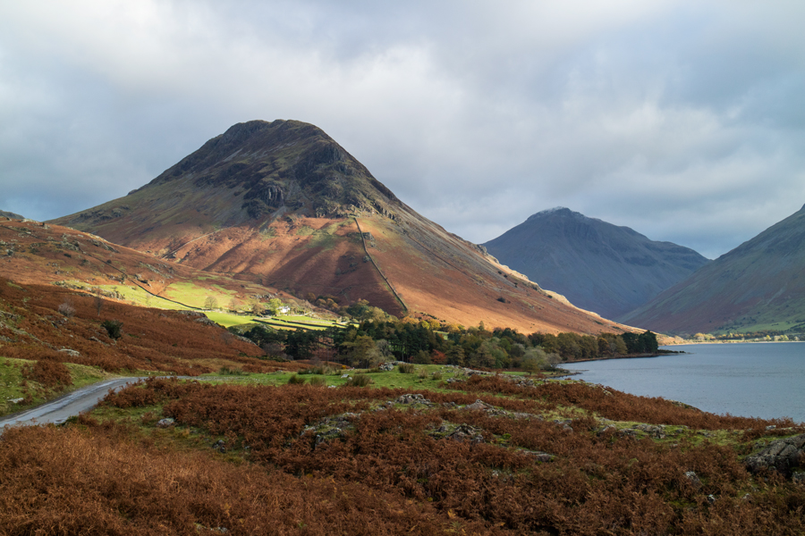 Yewbarrow, today's objective