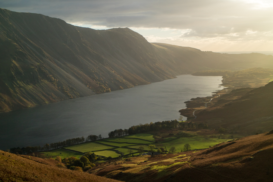 Evening light on Wastwater