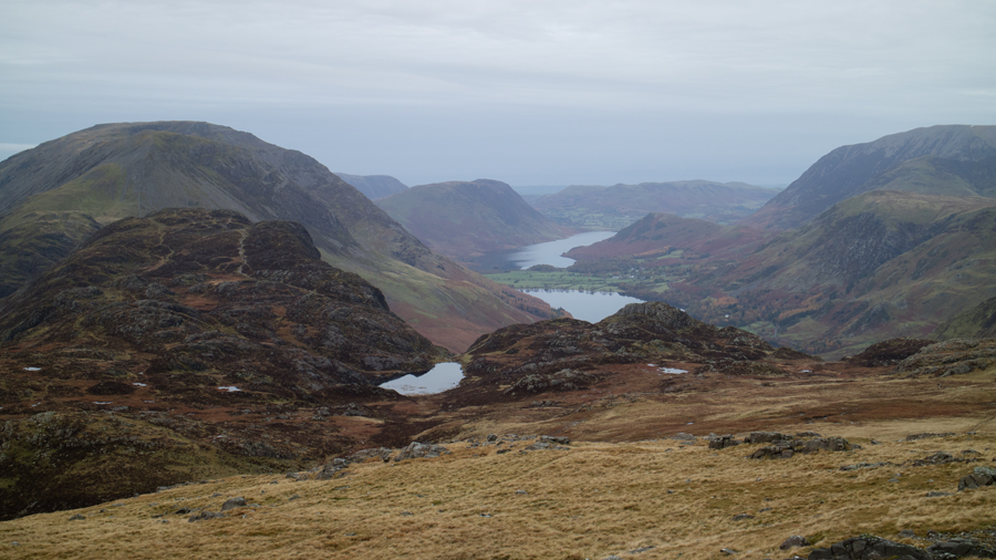 Blackback Tarn, Buttermere and Crummock Water