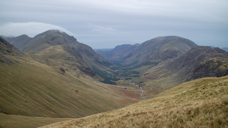 Ennerdale with cloud above Pillar