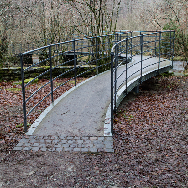 Bridge over the River Rothay at White Moss Common