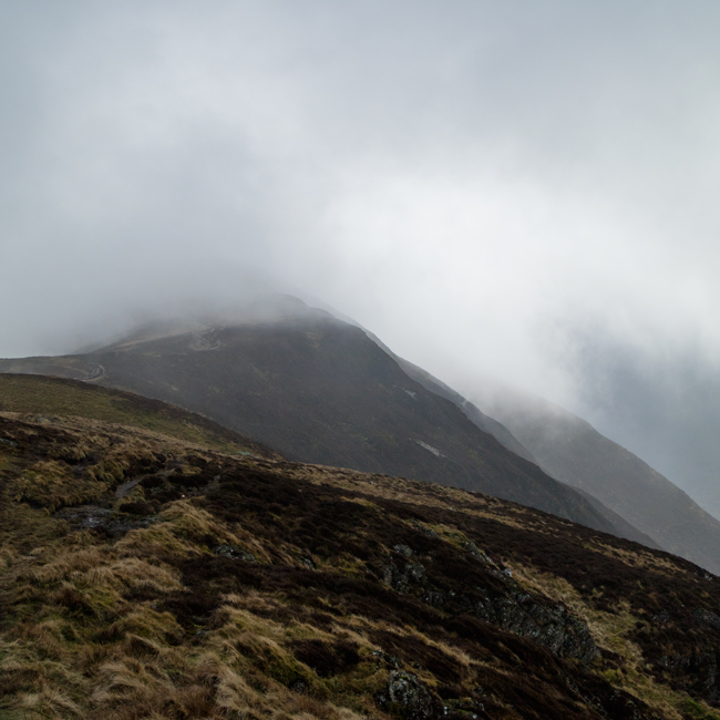 Towards High Spy from Maiden Moor