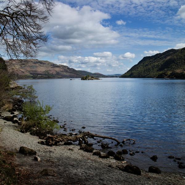 A lake shore walk back to Glenridding to finish